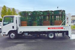 トラック荷積
