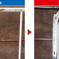 カゴ台車の修理例
